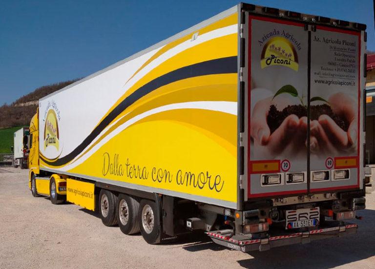 Agricola Piconi Umbria - Trasporto prodotti